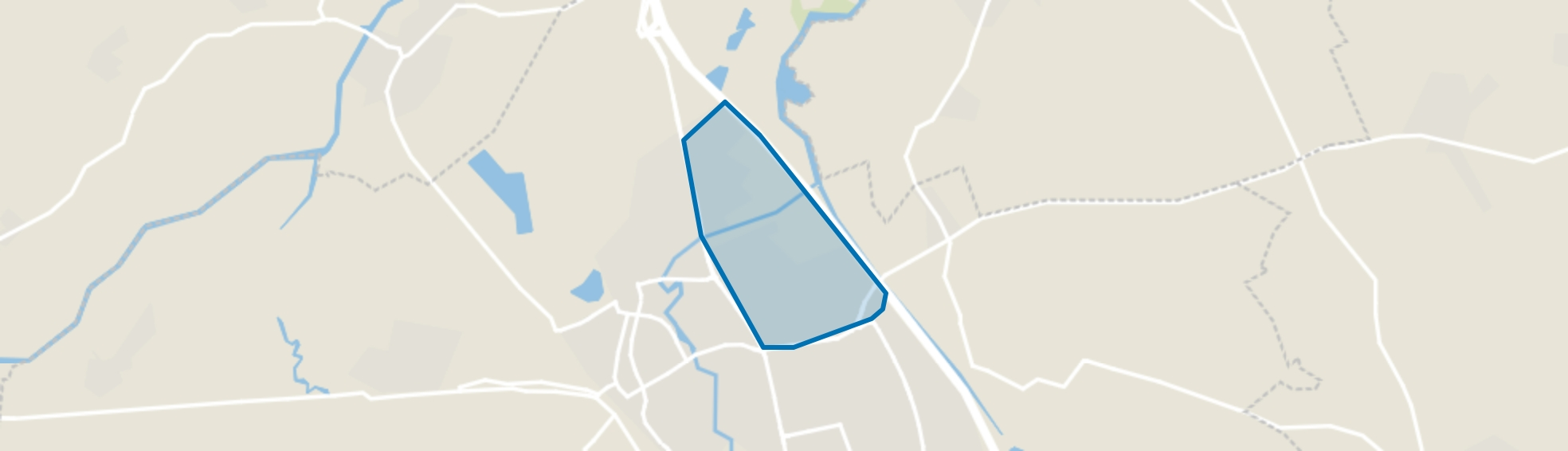 Munsel-Selissen, Boxtel map