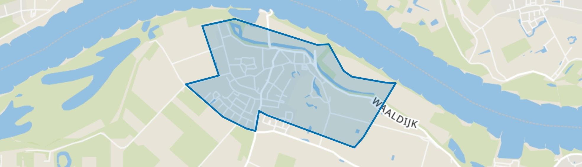 Brakel, Brakel map