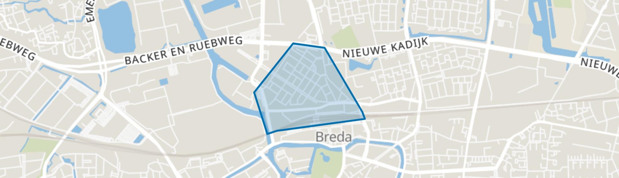 Belcrum, Breda map
