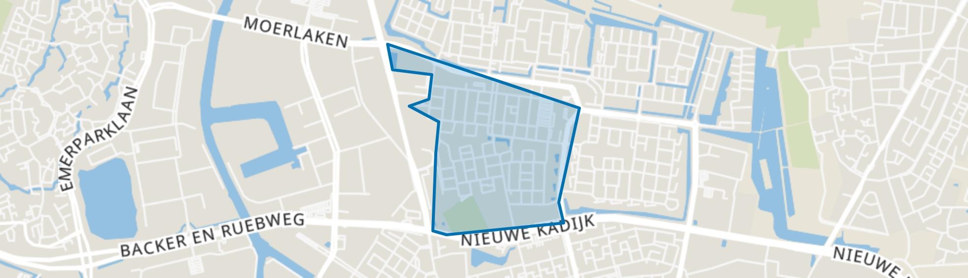 Biesdonk, Breda map