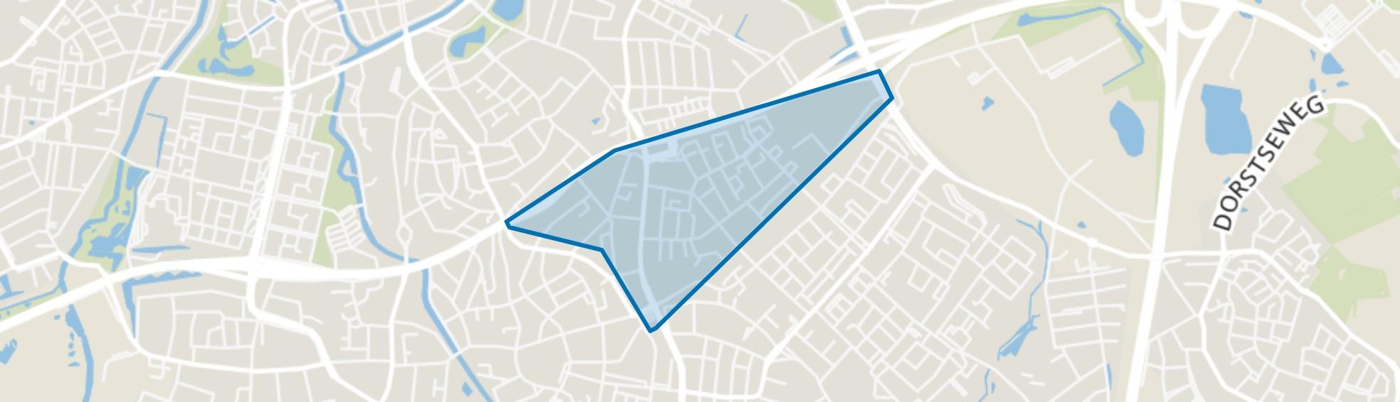Blauwe Kei, Breda map