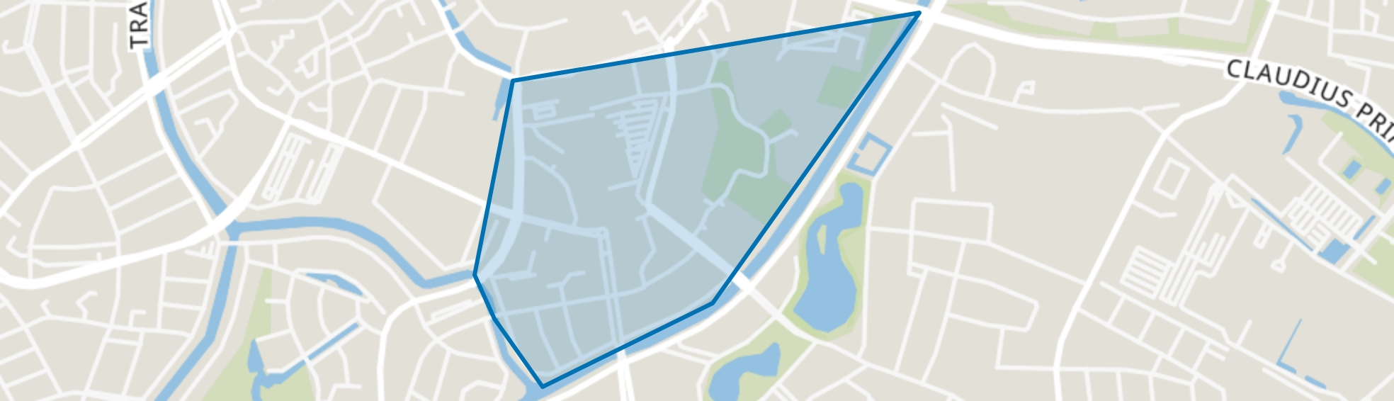 Chassé, Breda map