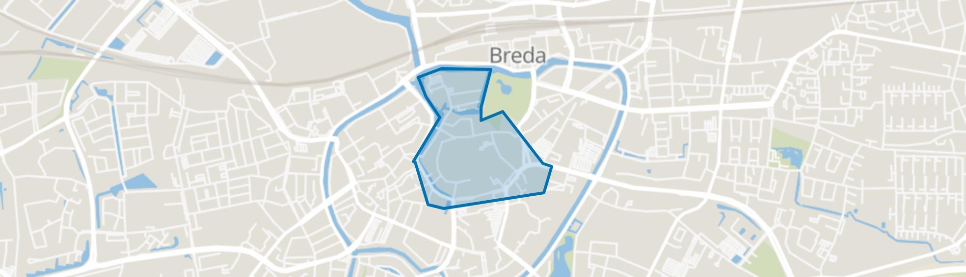 City, Breda map
