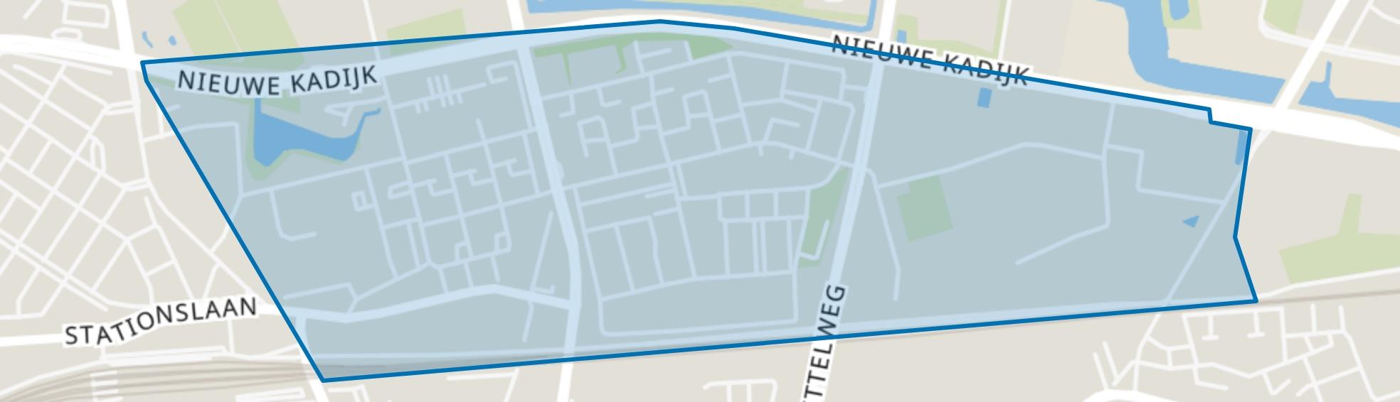 Doornbos-Linie, Breda map
