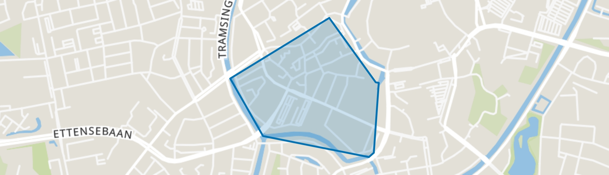 Fellenoord, Breda map