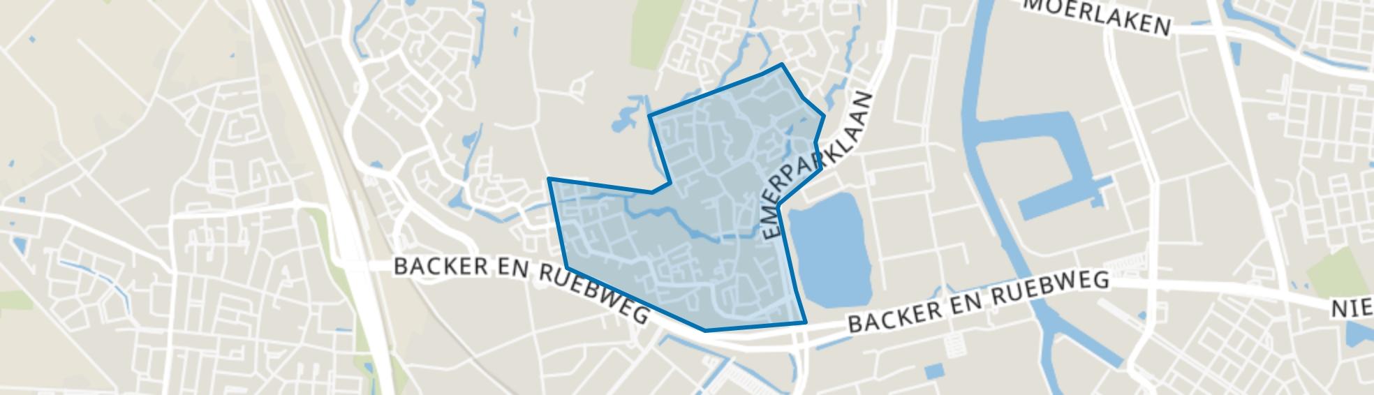 Gageldonk, Breda map