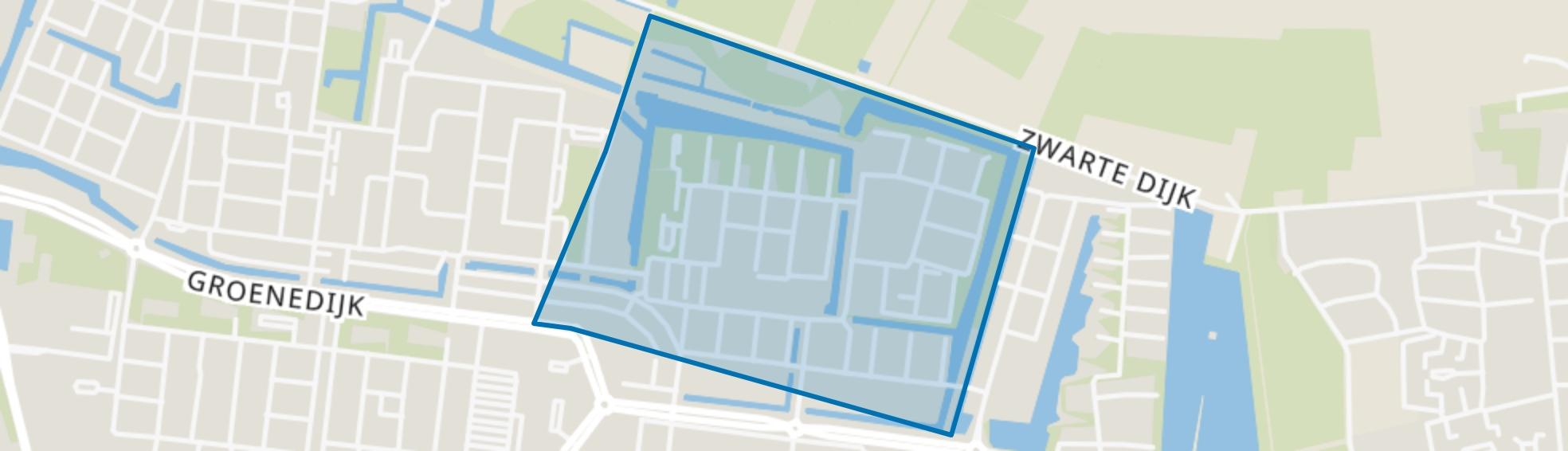 Geeren-noord, Breda map