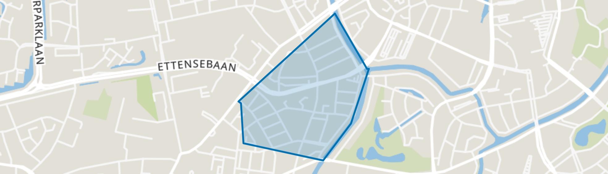 Haagpoort, Breda map