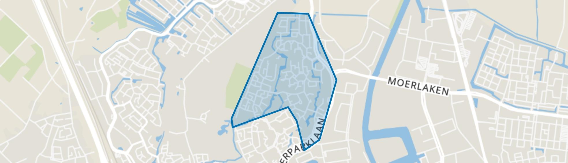 Kievitsloop, Breda map