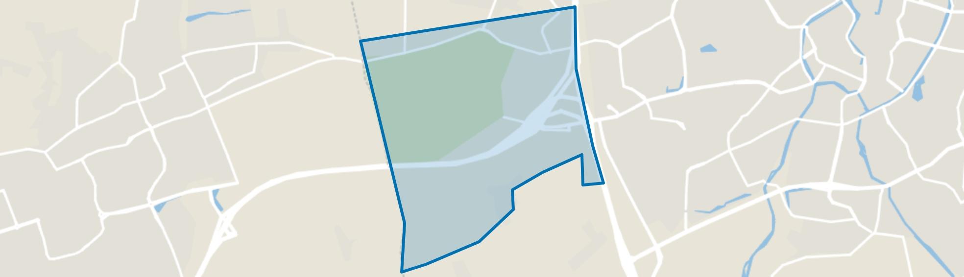 Liesbos, Breda map