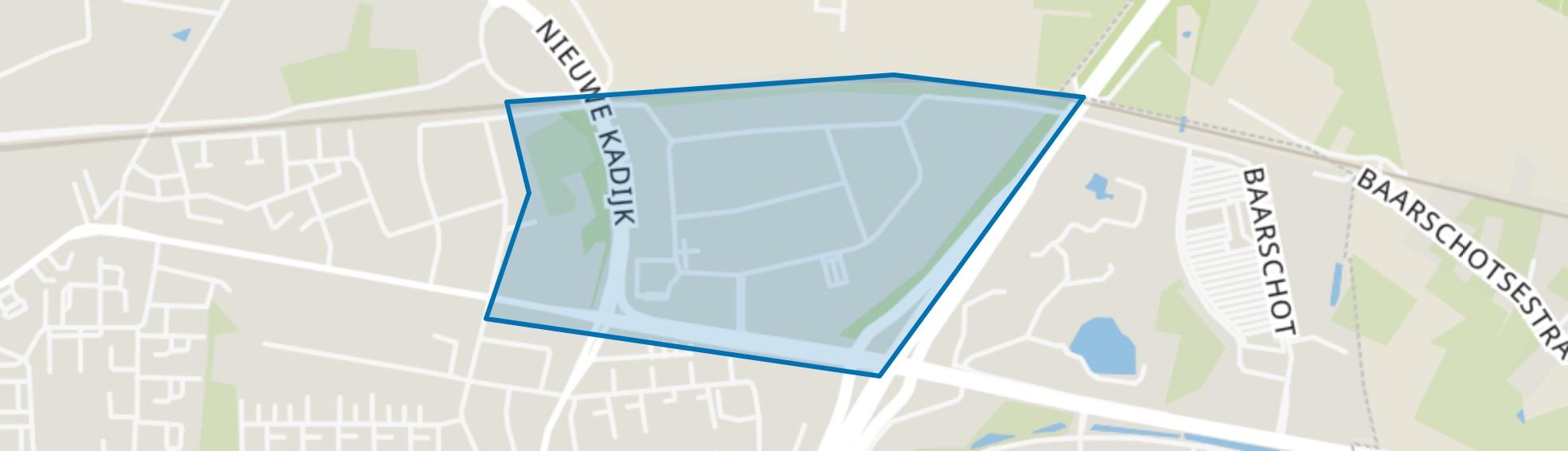 Moleneind-oost, Breda map
