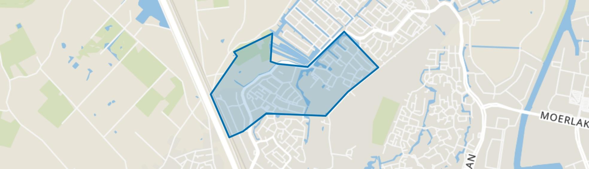 Muizenberg, Breda map