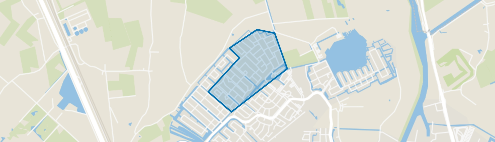 Overkroeten, Breda map