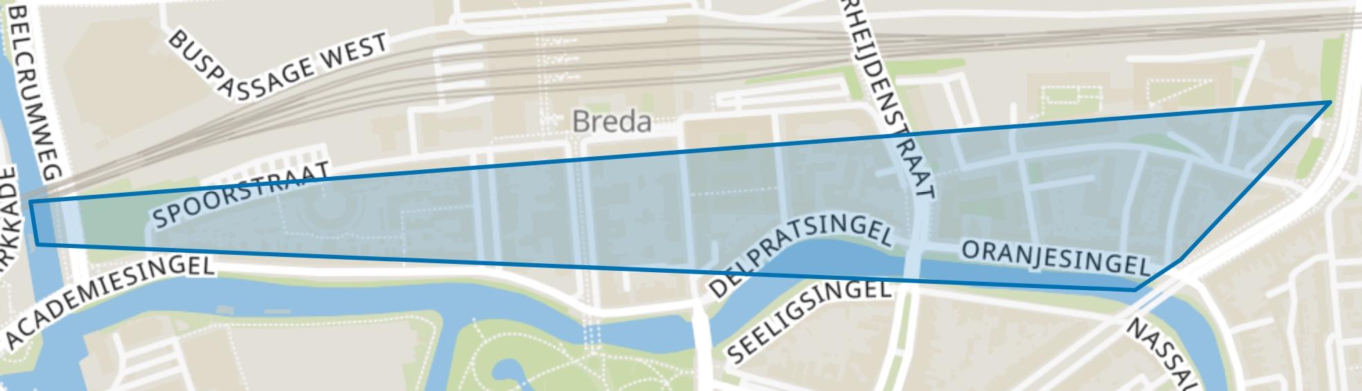 Station, Breda map