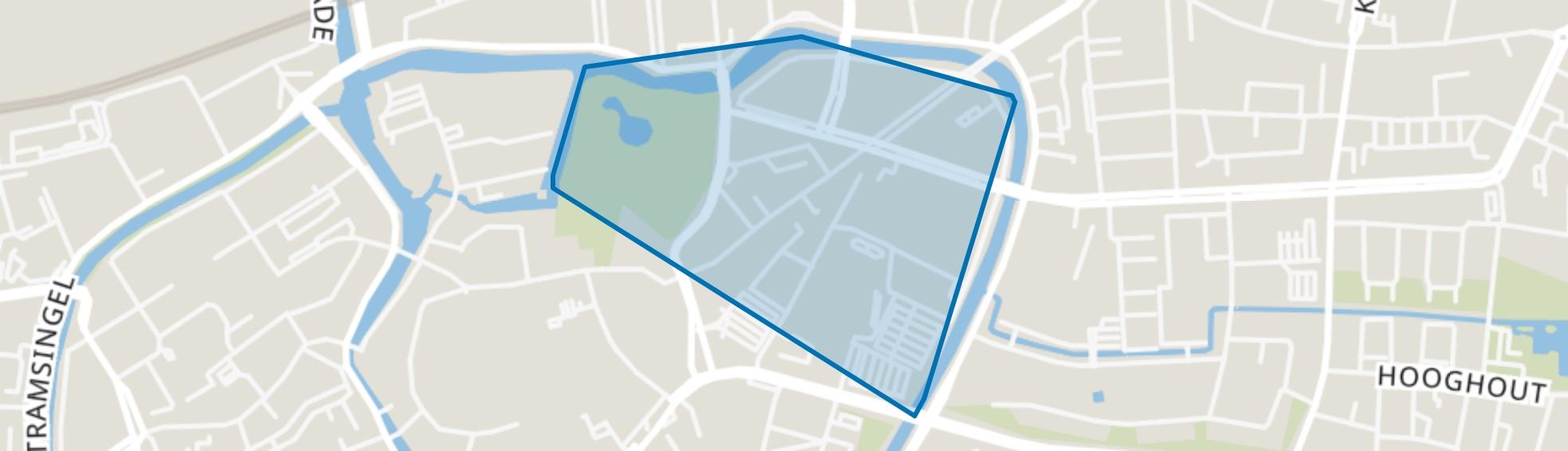 Valkenberg, Breda map