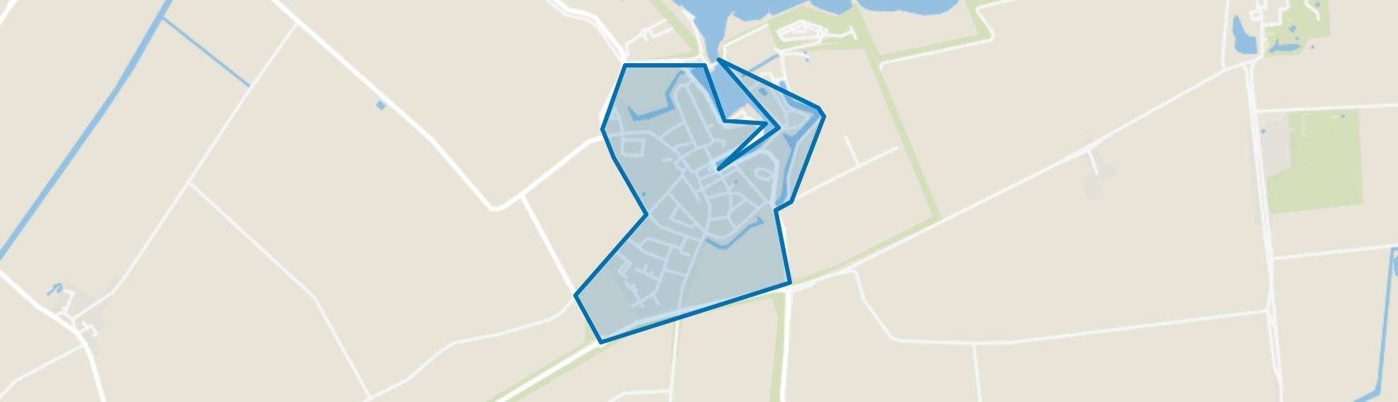 Brouwershaven, Brouwershaven map
