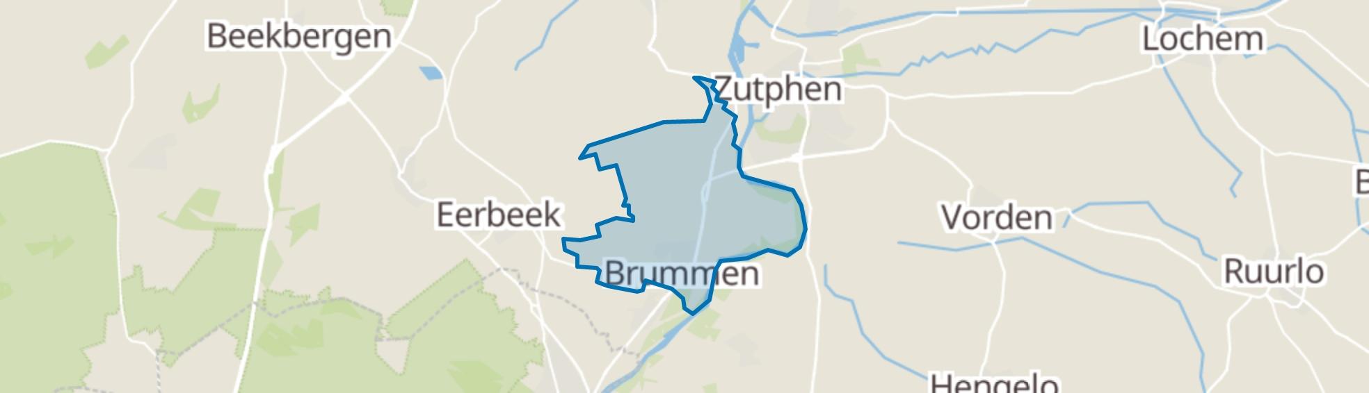 Brummen map