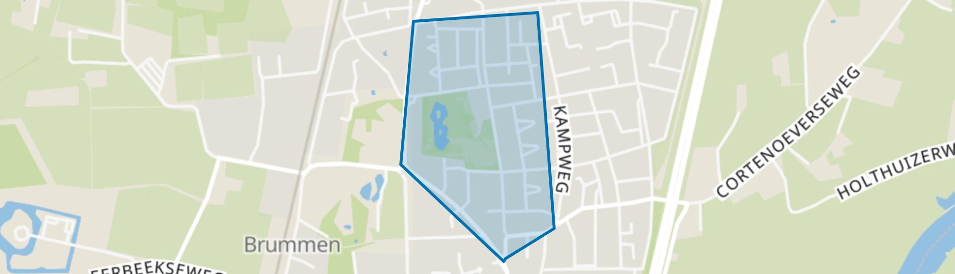 Brummense Enk West, Brummen map