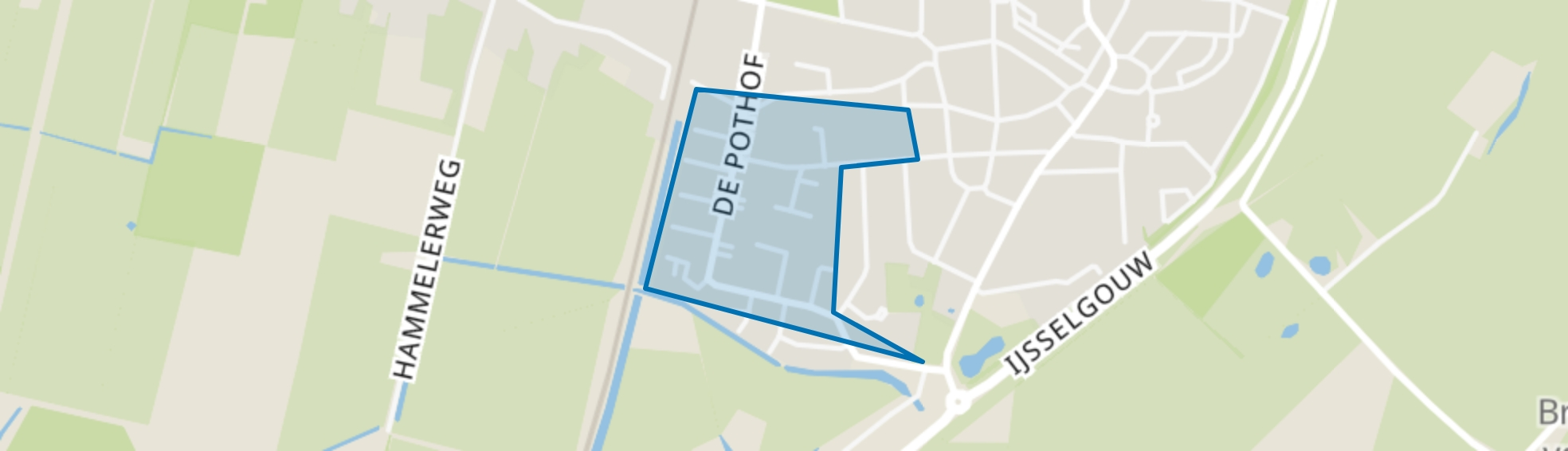 De Pothof, Brummen map