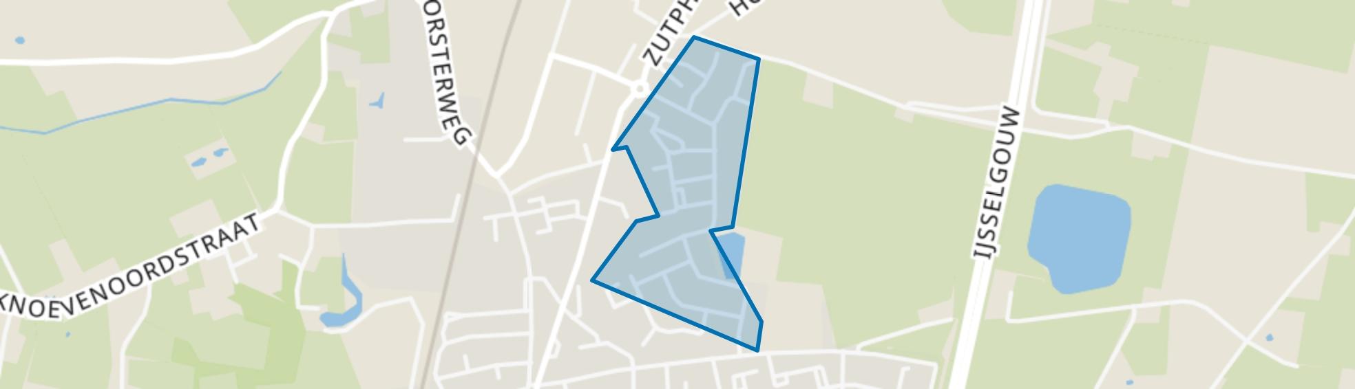 Elzenbos, Brummen map