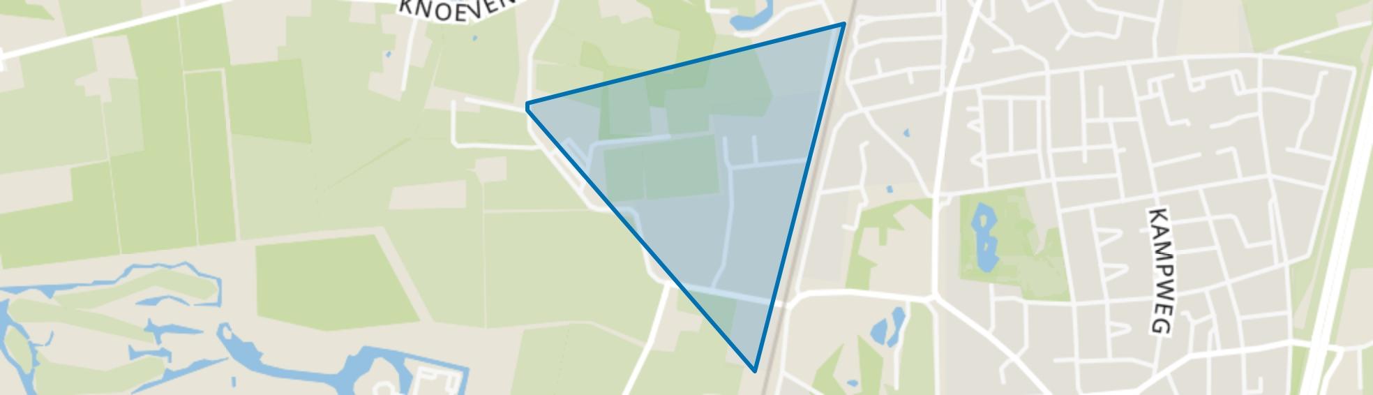Hazenberg, Brummen map