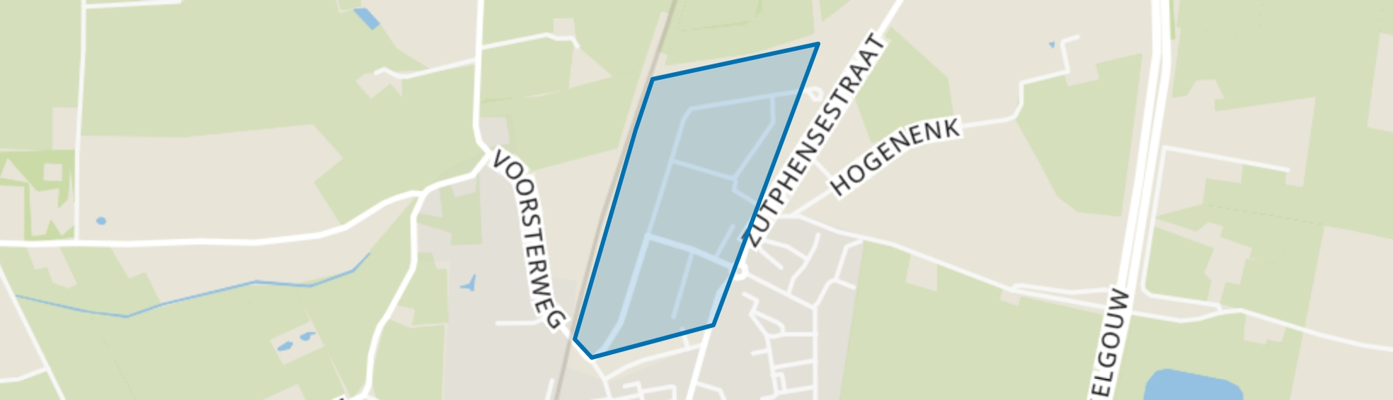 Rhienderen Noord, Brummen map
