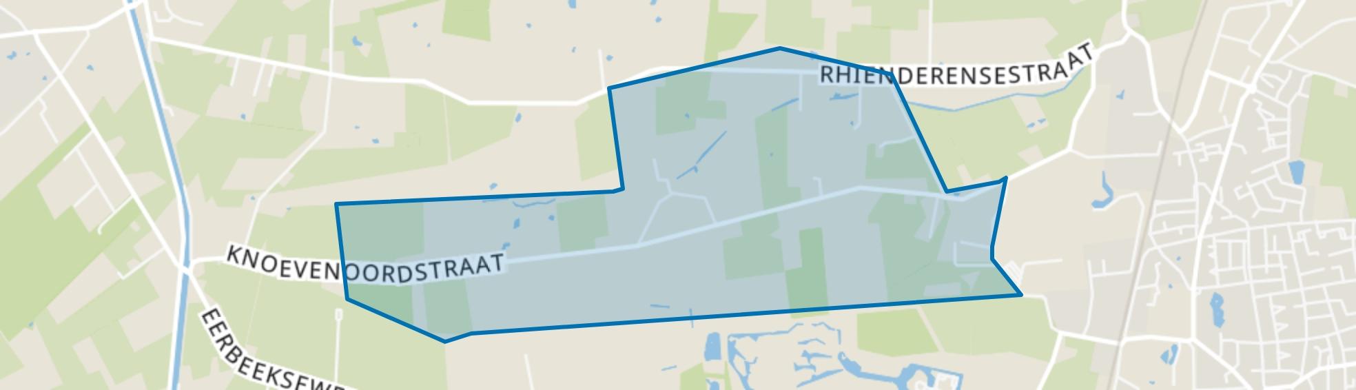 Rhienderense Broek, Brummen map