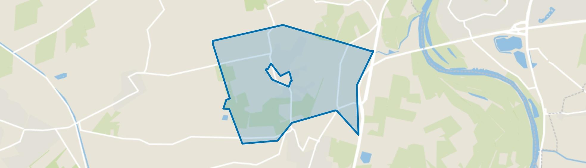 Verspreide huizen Oeken, Brummen map