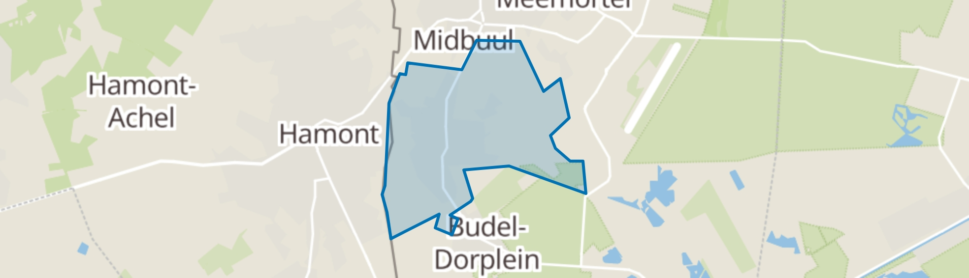 Budel-Schoot map