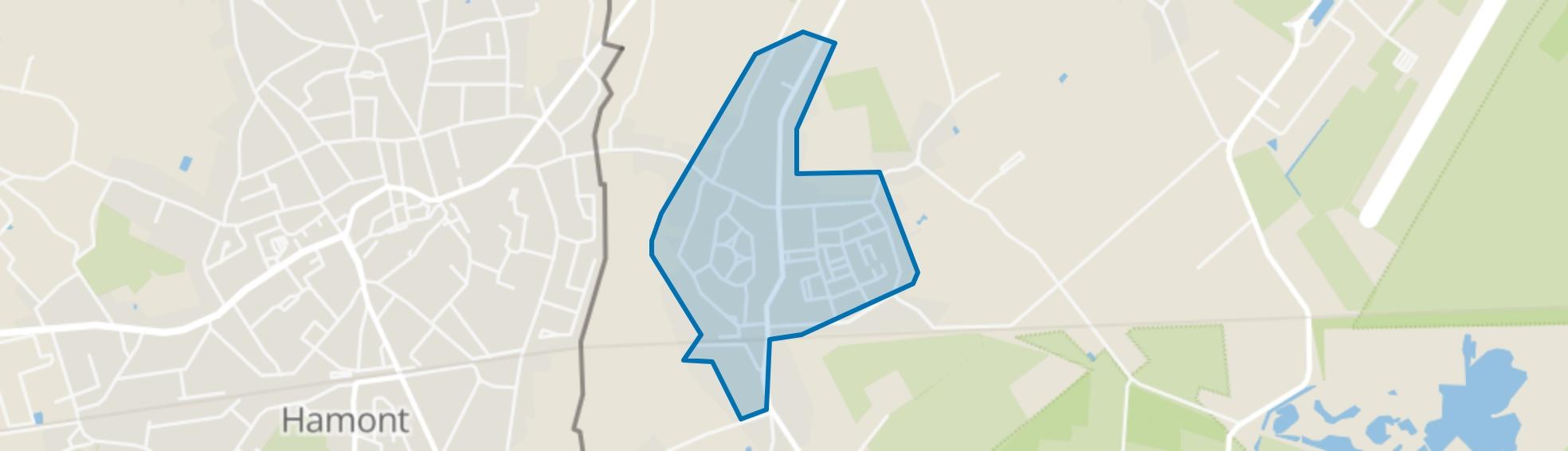Budel-Schoot, Budel-Schoot map