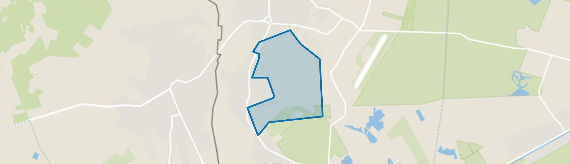 Klein-Schoot, Budel-Schoot map