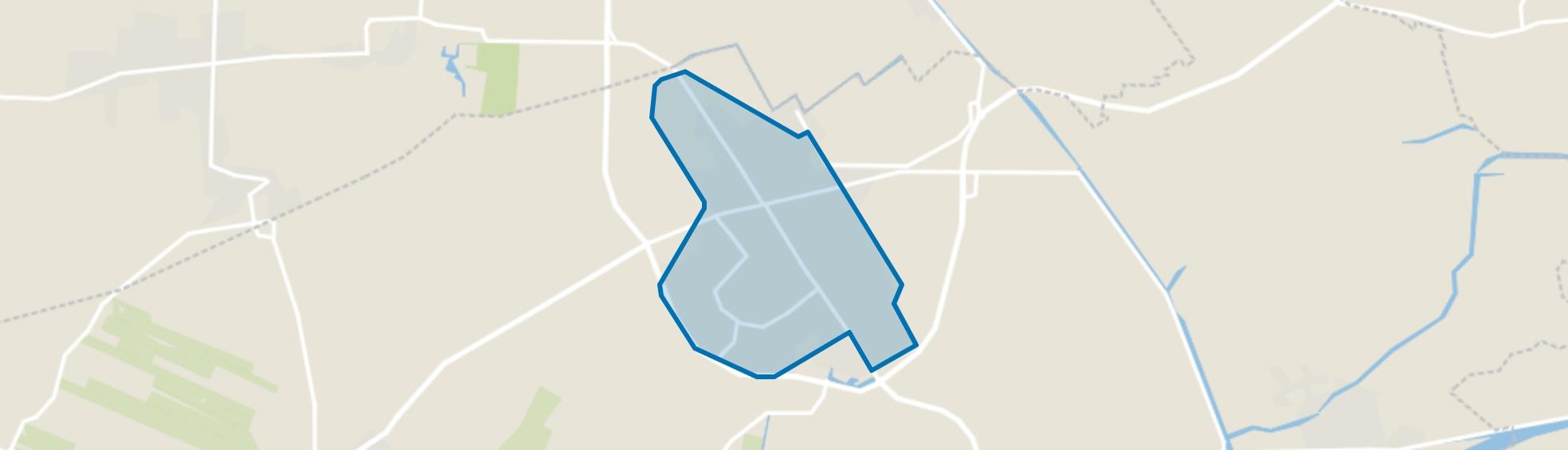 Buitenpost, Buitenpost map