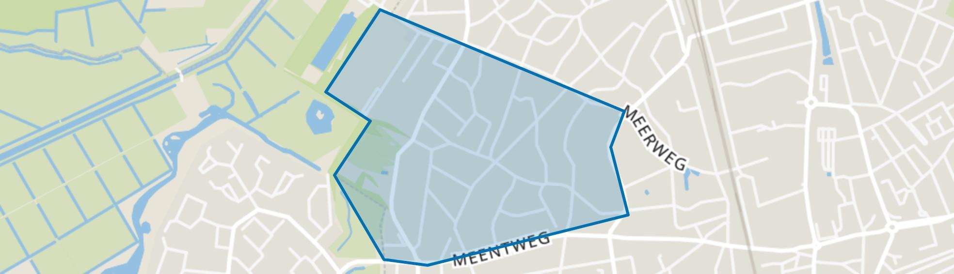 Boslaan, Bussum map