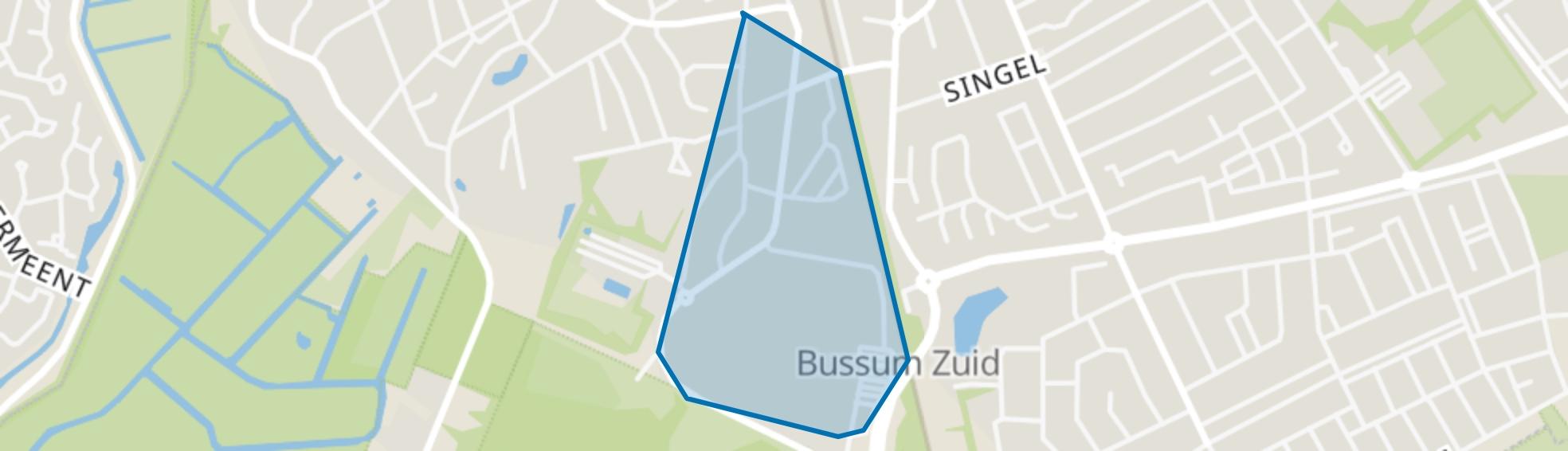 Meijerkamp, Bussum map