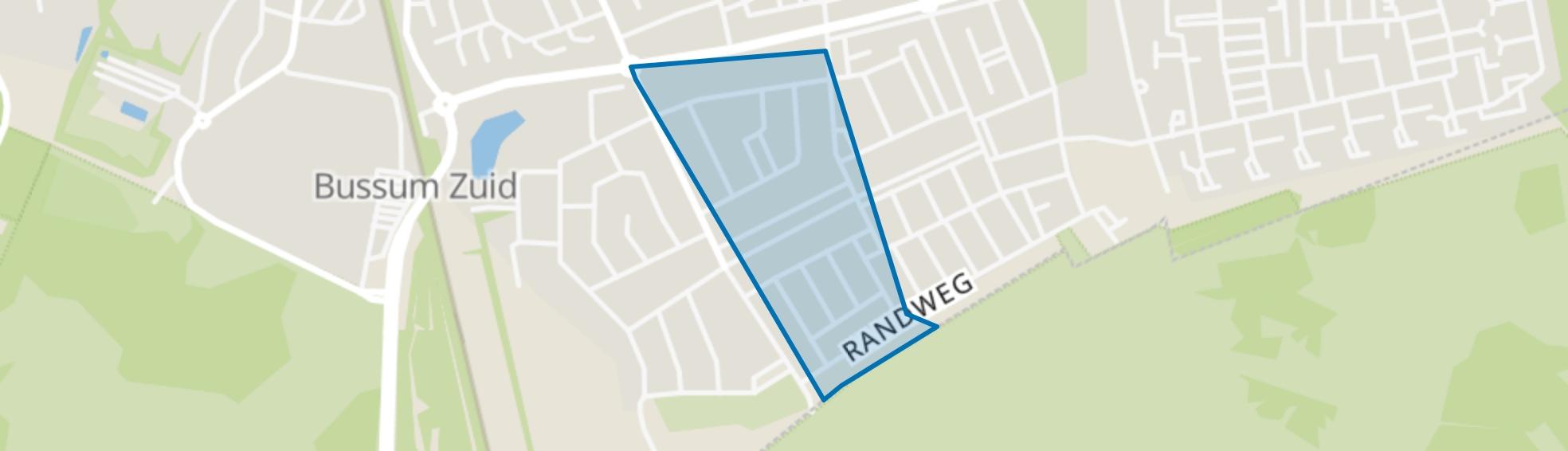 Midden Eng-West, Bussum map