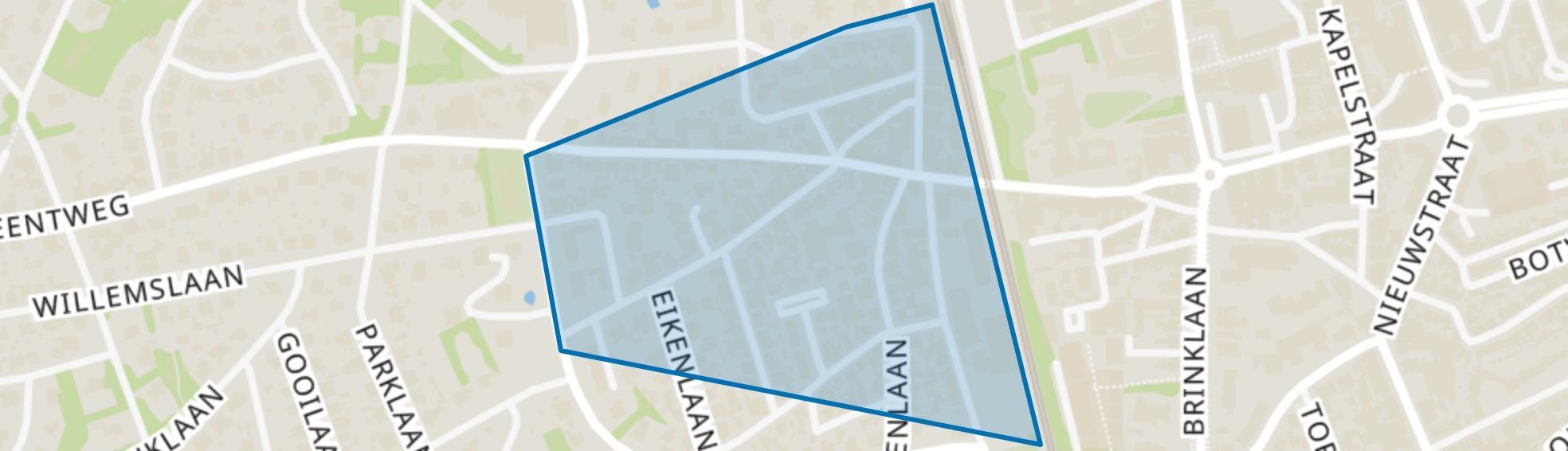 Spiegelzicht, Bussum map