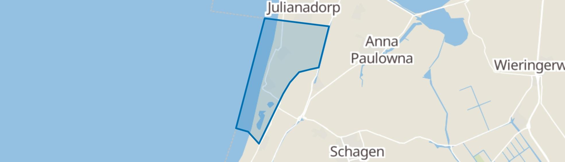 Callantsoog map