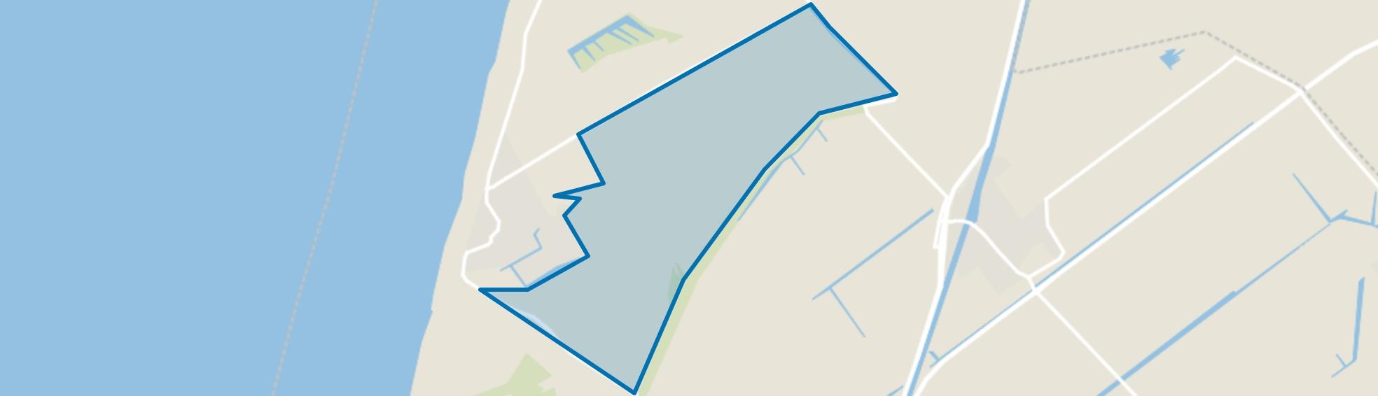 Buitengebied Callantsoog-Oost, Callantsoog map