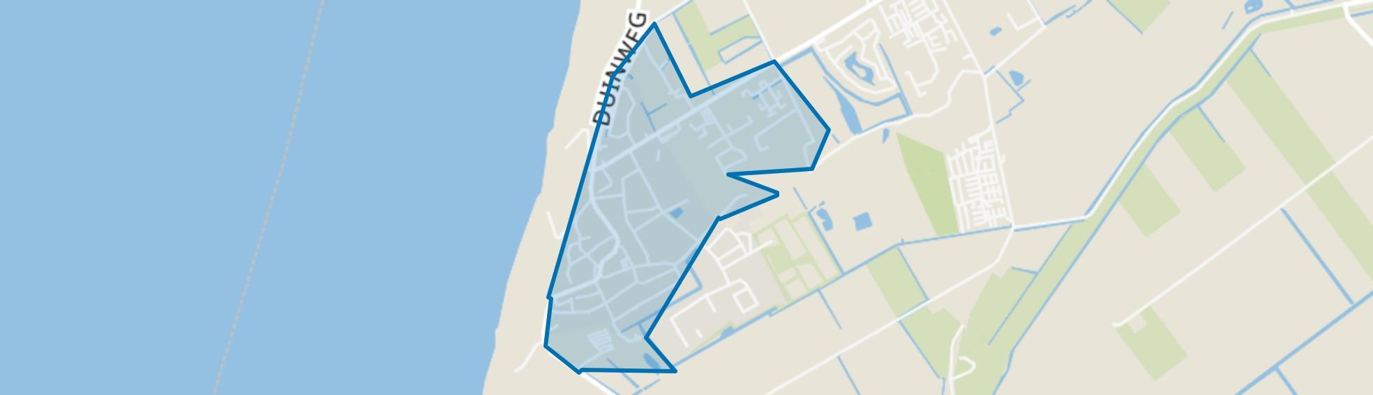 Callantsoog (woonkern), Callantsoog map