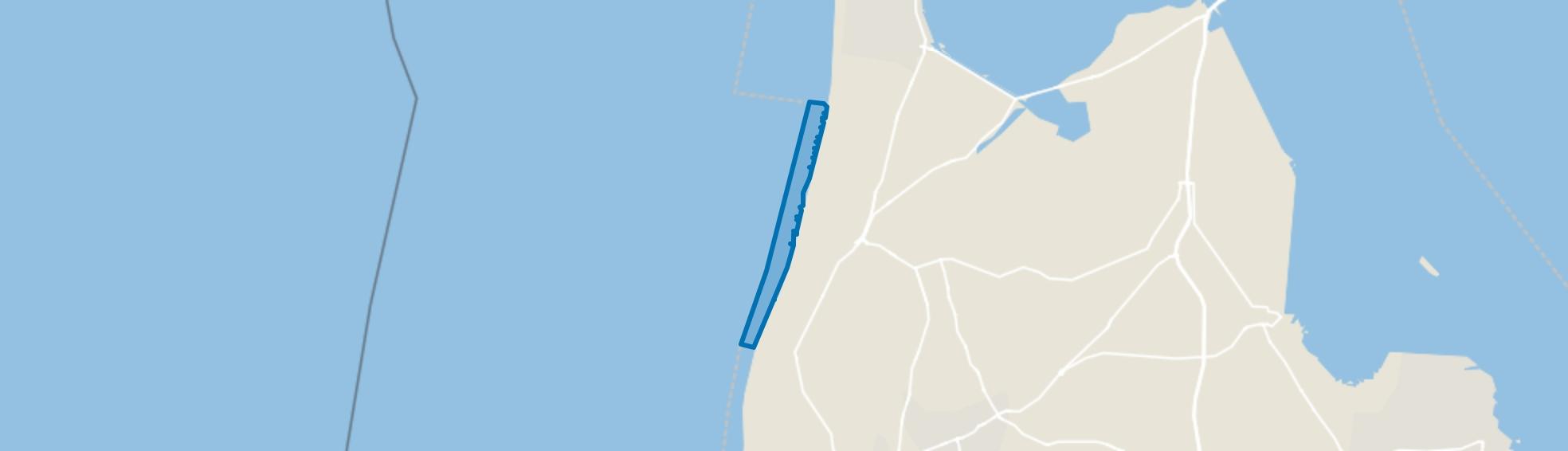 Water, Callantsoog map
