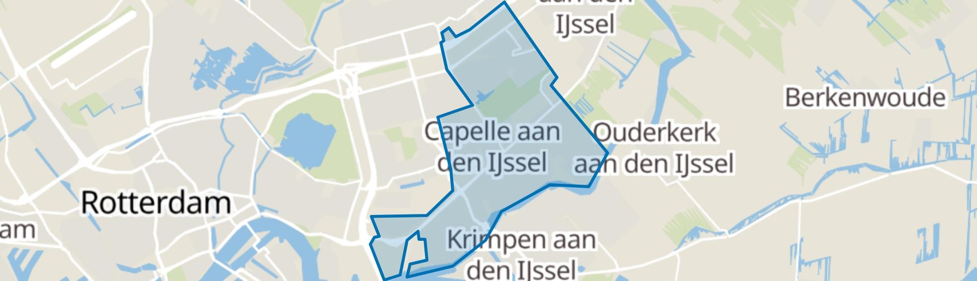 Capelle aan den IJssel map
