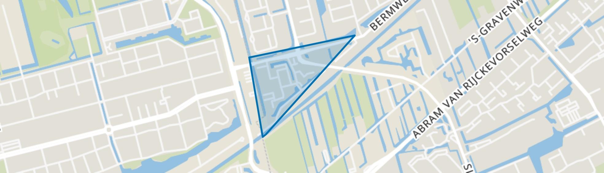 Akker/Haagwinde, Capelle aan den IJssel map