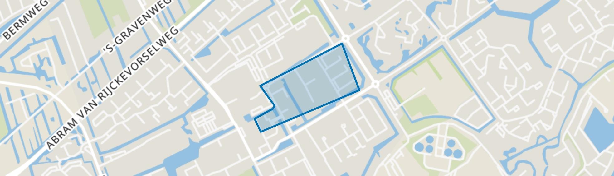 Alkenoord, Capelle aan den IJssel map