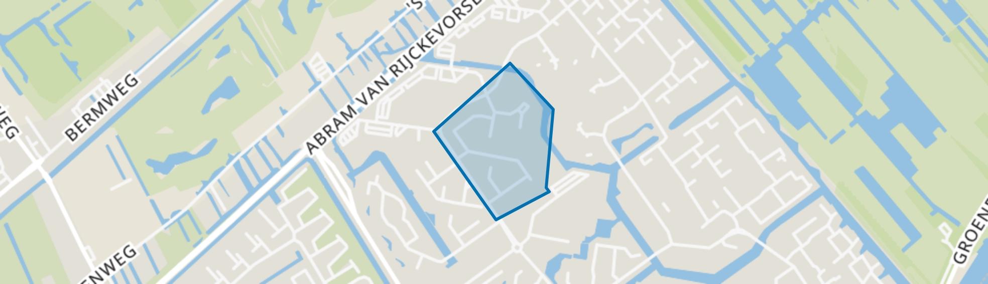 Amerikaansebuurt, Capelle aan den IJssel map
