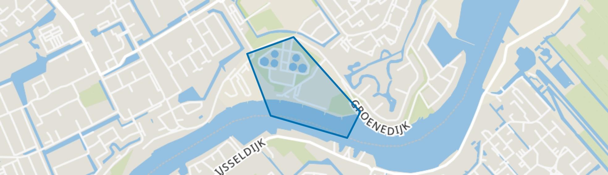 AWZI Oostgaarde, Capelle aan den IJssel map