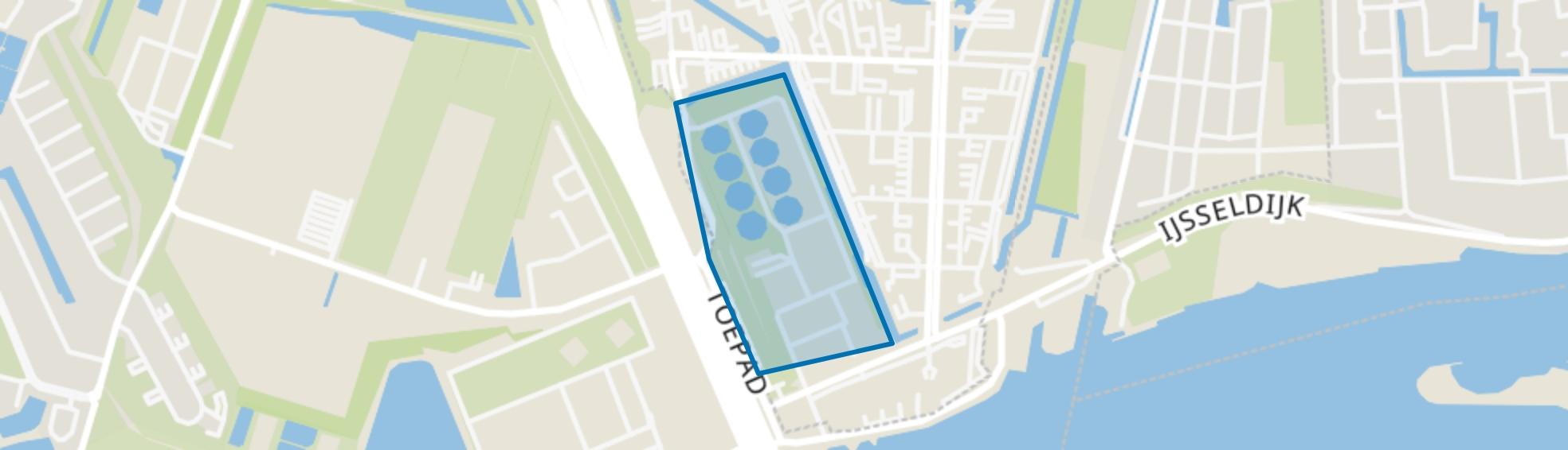 AWZI Rivium, Capelle aan den IJssel map