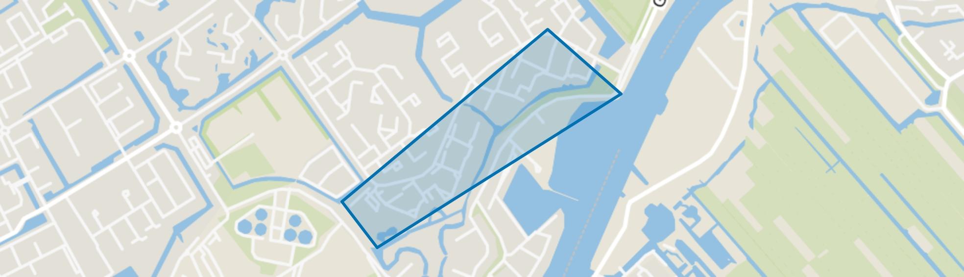 Baaienbuurt, Capelle aan den IJssel map