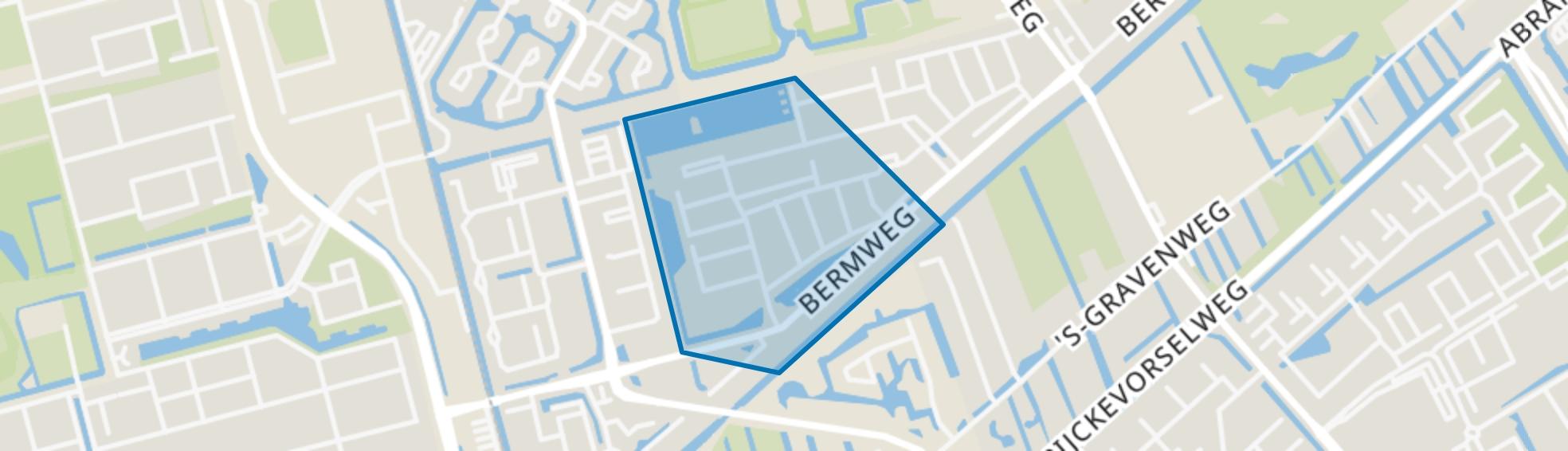 Bloemenbuurt-west, Capelle aan den IJssel map