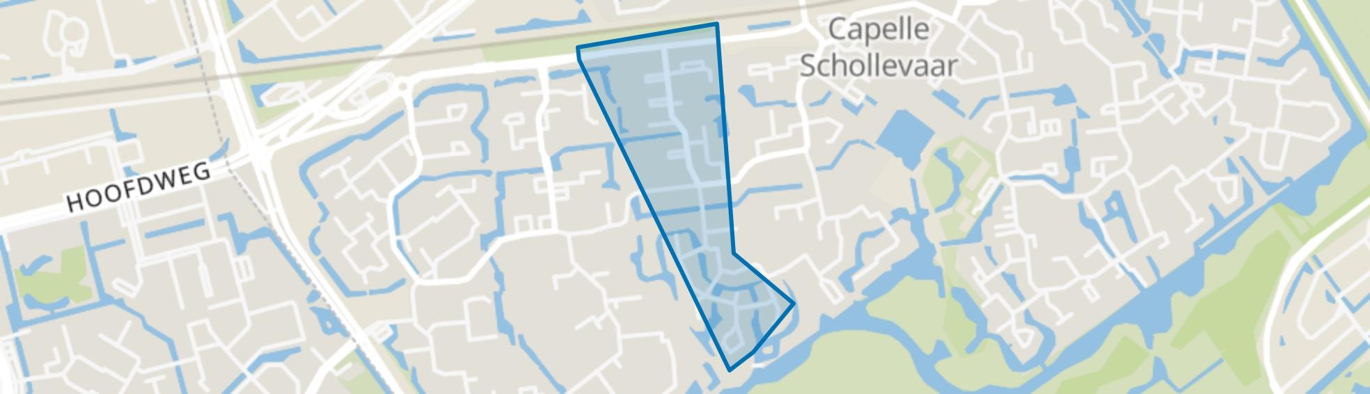 Burgenbuurt, Capelle aan den IJssel map