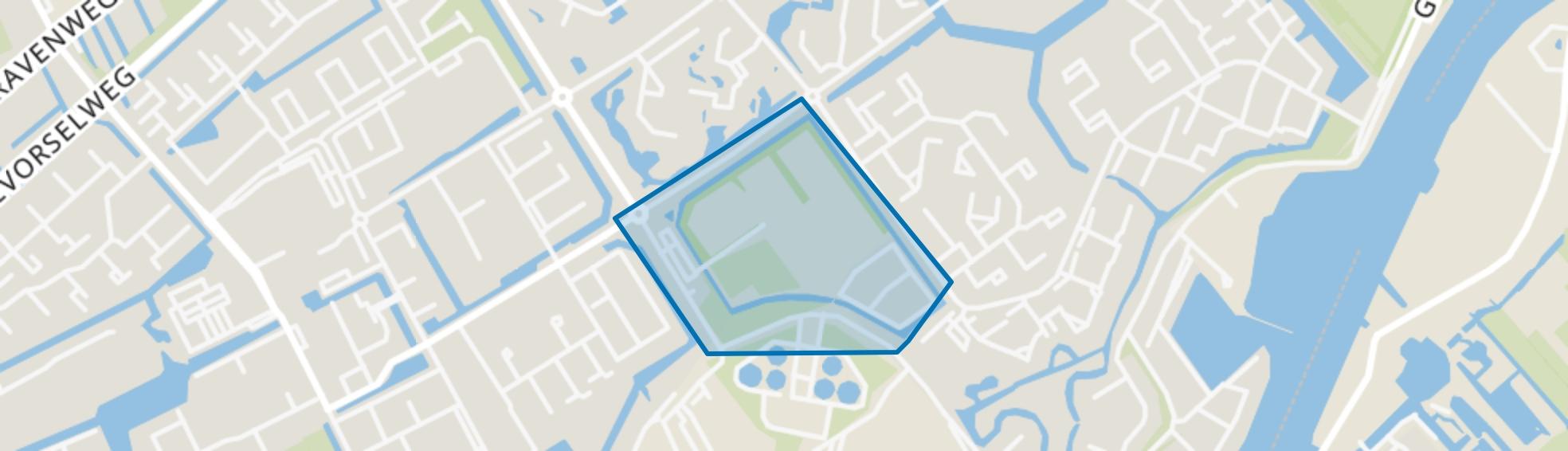 Couwenhoek, Capelle aan den IJssel map